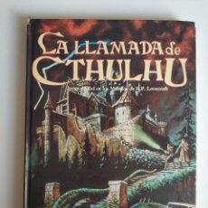 Giochi Antichi: LIBRO JUEGO DE ROL EN LOS MUNDOS DE H.P LOVECRAFT, LLA LLAMADA DE CTHULHU DE SANDY PETERSEN 1991. Lote 286653388