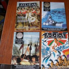 Juegos Antiguos: LOTE 4 REVISTAS ALEA JUEGOS GUERRA ESTRATEGIA. Lote 287867783