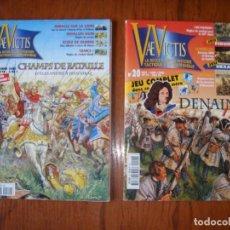 Juegos Antiguos: LOTE 2 REVISTAS VAE VICTIS JUEGO GUERRA ESTRATEGIA (IDIOMA FRANCÉS). Lote 287868548