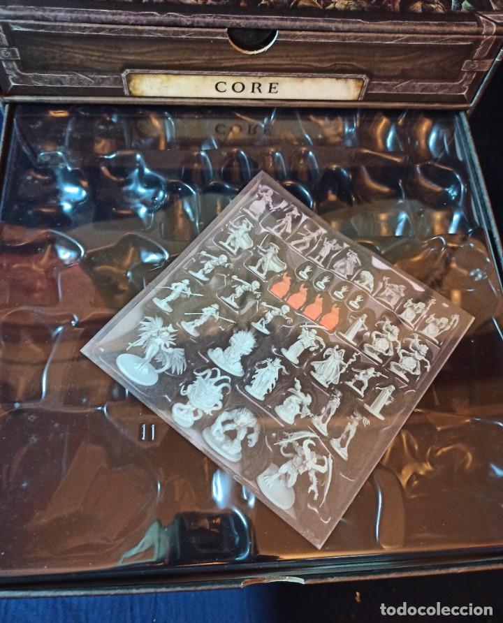 Juegos Antiguos: Juego de mesa FOLKLORE Tehe Afficion con archivador de cajones - Foto 7 - 288081873