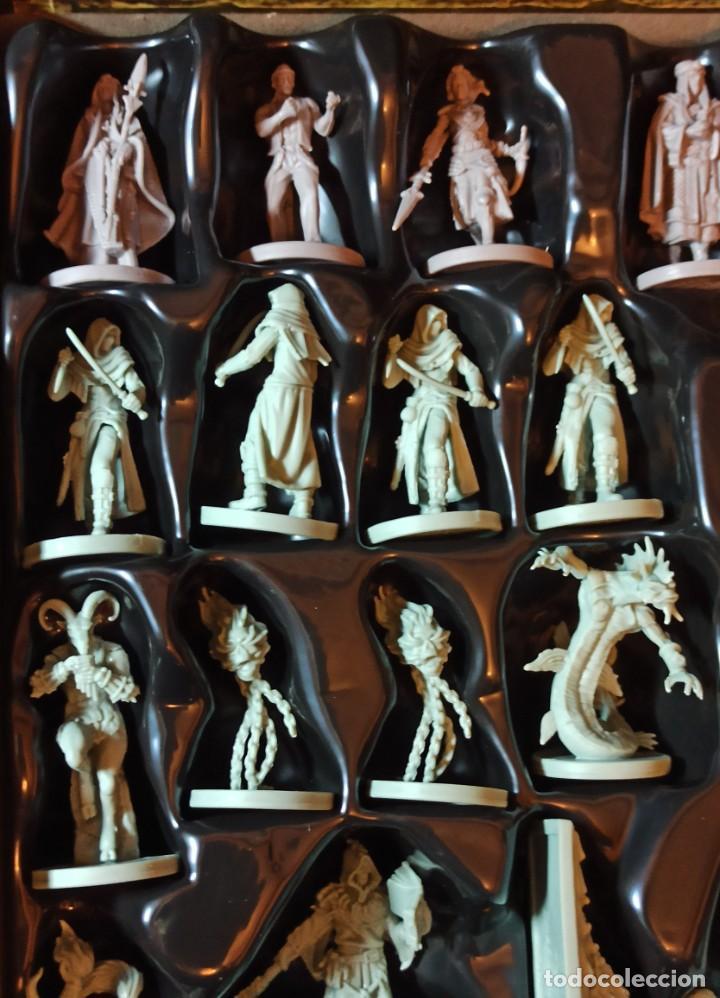 Juegos Antiguos: Juego de mesa FOLKLORE Tehe Afficion con archivador de cajones - Foto 9 - 288081873