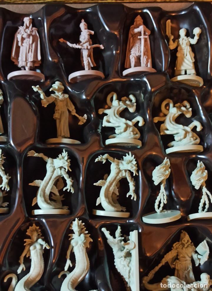 Juegos Antiguos: Juego de mesa FOLKLORE Tehe Afficion con archivador de cajones - Foto 10 - 288081873