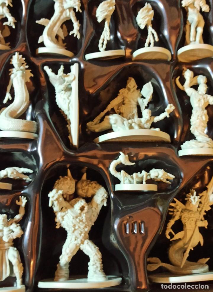 Juegos Antiguos: Juego de mesa FOLKLORE Tehe Afficion con archivador de cajones - Foto 11 - 288081873