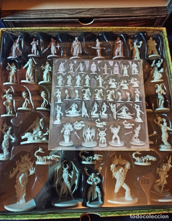 Juegos Antiguos: Juego de mesa FOLKLORE Tehe Afficion con archivador de cajones - Foto 13 - 288081873