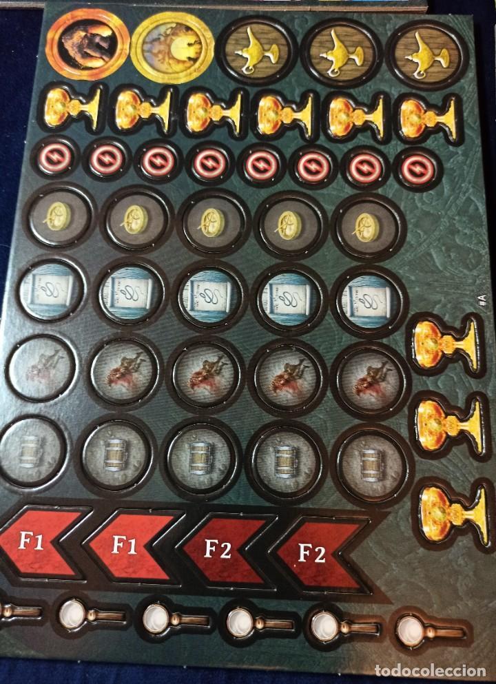 Juegos Antiguos: Juego de mesa FOLKLORE Tehe Afficion con archivador de cajones - Foto 20 - 288081873
