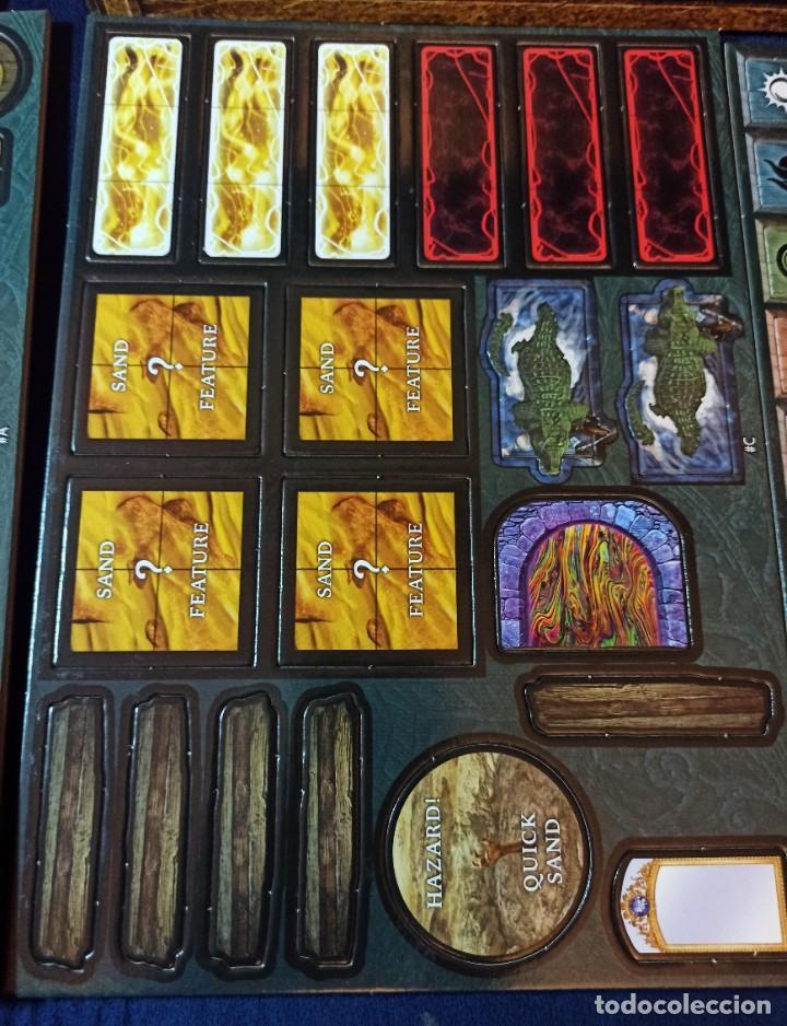 Juegos Antiguos: Juego de mesa FOLKLORE Tehe Afficion con archivador de cajones - Foto 21 - 288081873