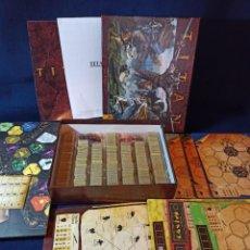 Juegos Antiguos: JUEGO DE ROL TITAN COMPLETO Y COMO NUEVO.CON INSTRUCCIONES TRADUCIDAS. Lote 288083988