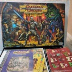 Juegos Antiguos: JUEGO DE MESA-DUNGEONS & DRAGONS- DRAGONES Y MAZMORRAS PARKER 2003 HASBRO COMPLETO Y BUEN ESTADO. Lote 288131988