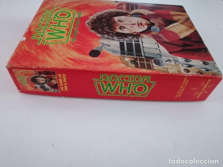 Juegos Antiguos: DOCTOR WHO. EL JUEGO DEL TIEMPO Y DEL ESPACIO. AÑO 1980 - Foto 5 - 288368573