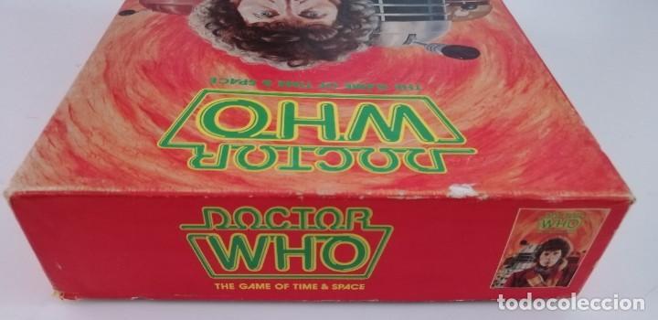 Juegos Antiguos: DOCTOR WHO. EL JUEGO DEL TIEMPO Y DEL ESPACIO. AÑO 1980 - Foto 6 - 288368573