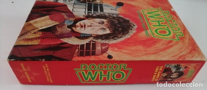 Juegos Antiguos: DOCTOR WHO. EL JUEGO DEL TIEMPO Y DEL ESPACIO. AÑO 1980 - Foto 7 - 288368573