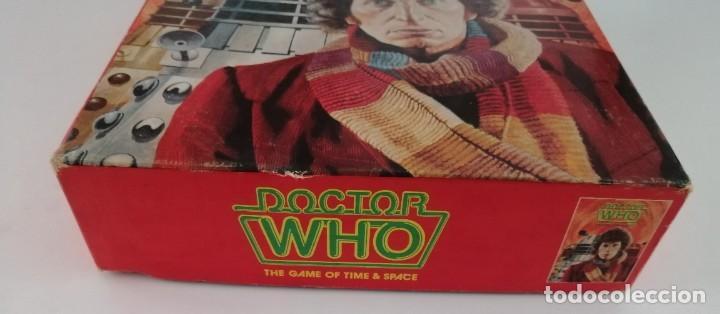 Juegos Antiguos: DOCTOR WHO. EL JUEGO DEL TIEMPO Y DEL ESPACIO. AÑO 1980 - Foto 8 - 288368573