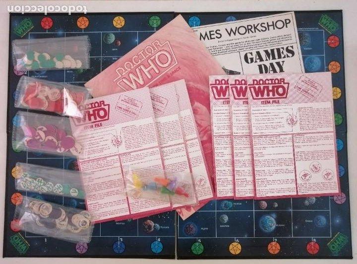Juegos Antiguos: DOCTOR WHO. EL JUEGO DEL TIEMPO Y DEL ESPACIO. AÑO 1980 - Foto 9 - 288368573