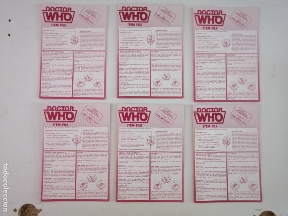 Juegos Antiguos: DOCTOR WHO. EL JUEGO DEL TIEMPO Y DEL ESPACIO. AÑO 1980 - Foto 11 - 288368573