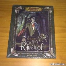 Juegos Antiguos: EXPEDICIÓN AL CASTILLO RAVENLOFT D&D 3.5 SUPLEMENTO DE ROL DUNGEONS AND DRAGONS DEVIR PRECINTADO. Lote 288733978