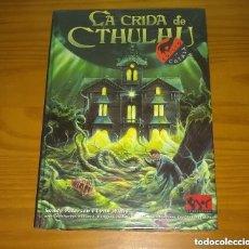 Juegos Antiguos: LA CRIDA LLAMADA DE CTHULHU JUEGO DE ROL EN LOS MUNDOS DE H.P. LOVECRAFT JOC 191 CATALÁN PRECINTADO. Lote 288735598