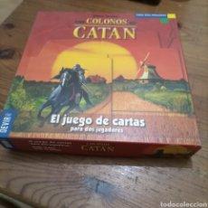 Juegos Antiguos: LOS COLONOS DE CATAN. JUEGO DE CARTAS PARA DOS JUGADORES. Lote 288983038