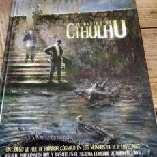Juegos Antiguos: EL RASTRO DE CTHULHU - LIBRO BÁSICO - JUEGO DE ROL - EDGE - LOVECRAFT - MITOS. Lote 289468848