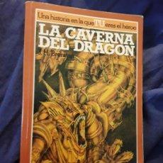 Juegos Antiguos: LA CAVERNA DEL DRAGON, DE J.H.BRENNAN. LIBRO JUEGO, ALTEA JUNIOR. EXCELENTE ESTADO. LA BUSQUEDA DEL. Lote 288945513