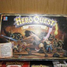 Jogos Antigos: HERO QUEST EDICION RENOVADA Y AMPLIADA MB AÑO 1992 HASBRO FOTOS DE TODO EL CONTENIDO. Lote 293188553