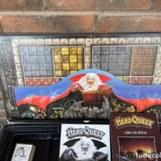 Juegos Antiguos: HEROQUEST DE MB ESPAÑOL CASI COMPLETO 1989 JUEGO MESA ESTRATEGIA. Lote 293664973