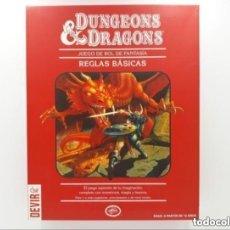 Juegos Antiguos: DUNGEONS & AND DRAGONS D&D LA CAJA ROJA JUEGO DE ROL. Lote 293676188