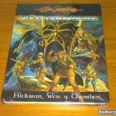 Juegos Antiguos: LA GUERRA DE LA LANZA DRAGONLANCE D&D 3.5 DUNGEONS AND DRAGONS ROL DEVIR PRECINTADO. Lote 293844813