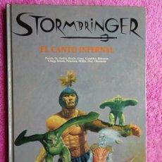 Juegos Antiguos: EL CANTO INFERNAL STORMBRINGER JOC INTERNACIONAL 1991 LIBRO.. Lote 293858493