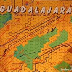Juegos Antiguos: GUADALAJARA 1937 - (TYR S.A. WARGAME VINTAGE). Lote 293880563