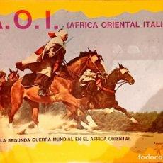 Juegos Antiguos: A.O.I. AFRICA ORIENTAL ITALIANA W.W.2 - (TYR S.A. WARGAME VINTAGE). Lote 293881098