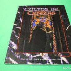 Jogos Antigos: LIBRO DE ROL: VAMPIRO EDAD OSCURA. CULTOS DE CENIZAS (LA FACTORÍA). Lote 294078923