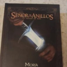 Juegos Antiguos: MORIA LA CIUDAD DE LOS ENANOS SEÑOR DE LOS ANILLOS JUEGO DE ROL DECIPHER CODA SUPLEMENTO LA FACTORIA. Lote 295396948
