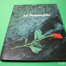 Juegos Antiguos: LIBRO DE ROL: VAMPIRO LA MASCARADA 2ª VERSIÓN (LA FACTORÍA). Lote 295507518