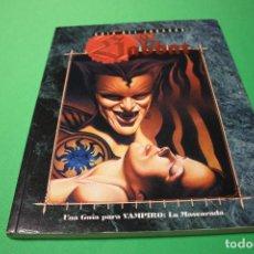 Juegos Antiguos: LIBRO DE ROL: VAMPIRO LA MASCARADA. GUÍA DEL JUGADOR: EL SABBAT (LA FACTORÍA). Lote 295508143