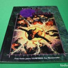 Juegos Antiguos: LIBRO DE ROL: VAMPIRO LA MASCARADA. MANUAL DEL NARRADOR: EL SABBAT (LA FACTORÍA). Lote 295509893
