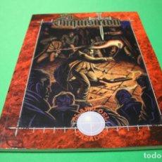 Juegos Antiguos: LIBRO DE ROL: VAMPIRO LA MASCARADA. LA INQUISICIÓN (LA FACTORÍA). Lote 295510028