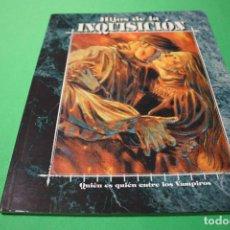 Juegos Antiguos: LIBRO DE ROL: VAMPIRO LA MASCARADA. HIJOS DE LA INQUISICIÓN (LA FACTORÍA). Lote 295510138