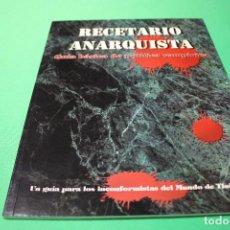 Juegos Antiguos: LIBRO DE ROL: VAMPIRO LA MASCARADA. RECETARIO ANARQUISTA (LA FACTORÍA). Lote 295510253