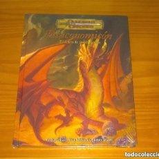 Juegos Antiguos: DRACONOMICON EL LIBRO DE LOS DRAGONES D&D 3.5 SUPLEMENTO ROL DUNGEONS AND DRAGONS DEVIR PRECINTADO. Lote 295649248