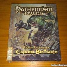 Juegos Antiguos: PATHFINDER PAWNS PEONES CAJA DEL BESTIARIO D&D 3.5 ROL DUNGEONS AND DRAGONS DEVIR PRECINTADO. Lote 295678123