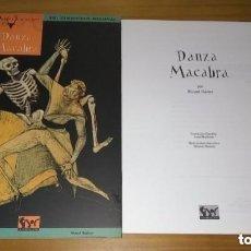 Juegos Antiguos: AQUELARRE DANZA MACABRA (PANTALLA DEL DIRECTOR DE JUEGO) ROL DEMONÍACO MEDIEVAL RICARD IBAÑEZ JOC. Lote 295748418