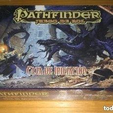 Juegos Antiguos: PATHFINDER CAJA DE INICIACIÓN D&D 3.5 ROL DUNGEONS AND DRAGONS DEVIR PRECINTADO. Lote 295748668
