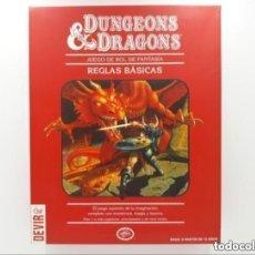 Juegos Antiguos: DUNGEONS & AND DRAGONS D&D LA CAJA ROJA JUEGO DE ROL. Lote 295748963