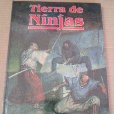 Juegos Antiguos: TIERRA DE NINJAS RUNEQUEST JUEGO DE ROL SUPLEMENTO JOC INTERNACIONAL PRECINTADO. Lote 295749573