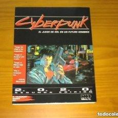 Juegos Antiguos: CYBERPUNK - BASICO - EL JUEGO DE ROL EN UN FUTURO SOMBRIO 2.0.2.0. (2020) M+D EDITORES. Lote 295751803