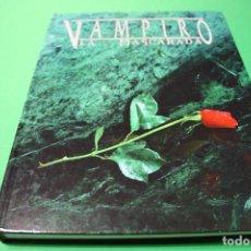 Juegos Antiguos: LIBRO DE ROL: VAMPIRO LA MASCARADA (LA FACTORÍA). Lote 295785738