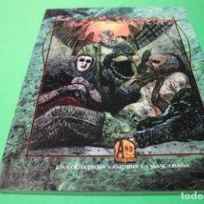 Juegos Antiguos: LIBRO DE ROL: VAMPIRO LA MASCARADA. EL TIEMPO DE LA SANGRE DÉBIL (LA FACTORÍA). Lote 295786053