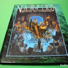Juegos Antiguos: LIBRO DE ROL: VAMPIRO LA MASCARADA. MANUAL DEL NARRADOR (LA FACTORÍA). Lote 295786163