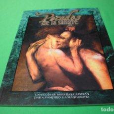 Juegos Antiguos: LIBRO DE ROL: VAMPIRO LA MASCARADA. PECADOS DE LA SANGRE (LA FACTORÍA). Lote 295786478