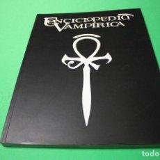 Juegos Antiguos: LIBRO DE ROL: VAMPIRO LA MASCARADA. ENCICLOPEDIA VAMPÍRICA (LA FACTORÍA). Lote 295786608